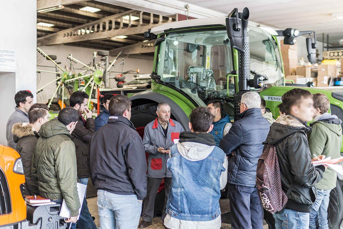 Maquinaria agrícola Galicia LISTE