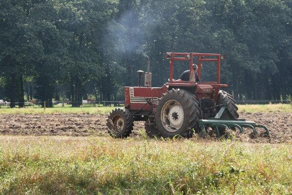 emisiones de humo de tractor de segunda mano