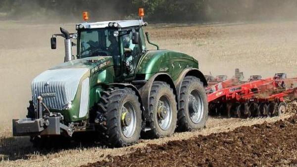 potencia de tractor
