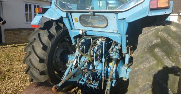 revision de sistema hidráulico de tractor de segunda mano